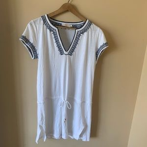 Tory Burch Linen and Cotton Cover Up size M
